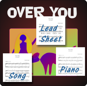 Sheet music for Over You