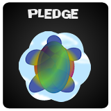 Button linking to information, lyrics, etc. for Pledge