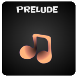 Button linking to information, lyrics, etc. for Prelude