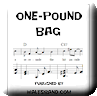 Button for purchasing the sheet music of One-pound Bag for $5.45