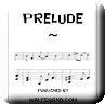 Button for purchasing the sheet music of Prelude for $0.00