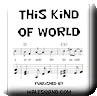 Button for purchasing the sheet music of This Kind of World for $5.45