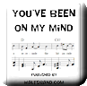 Button for purchasing the sheet music of You've Been On My Mind for $5.45