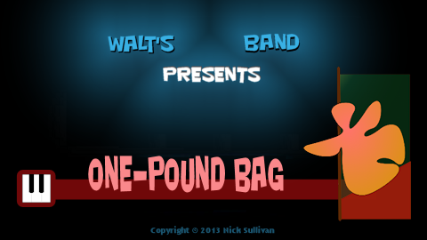 The title image of the video for Nick Sullivan's song 'One-pound Bag'