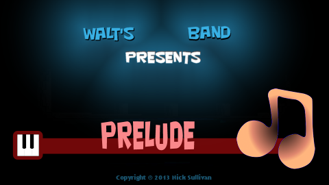 The title image of the video for Nick Sullivan's song 'Prelude'