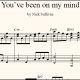 You've Been On My Mind sheet music (detail)